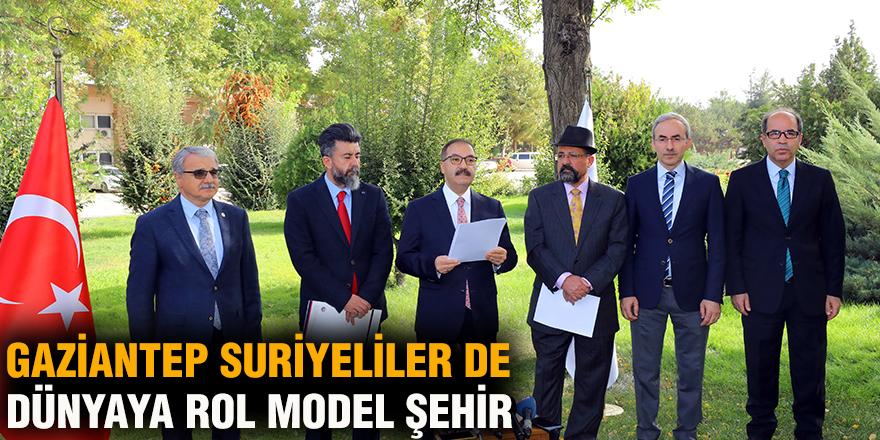 Gaziantep Suriyeliler de Dünyaya rol model şehir
