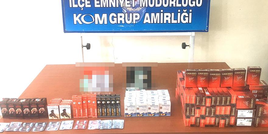 Nizip'te kaçakçılık operasyonu
