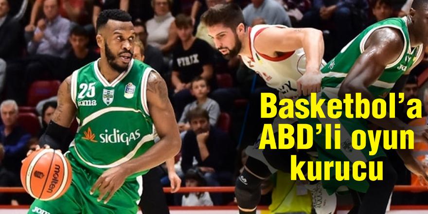 Gaziantep Basketbol'a ABD'li oyun kurucu