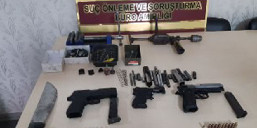 Silah imal ve ticareti yapan şahıs yakalandı