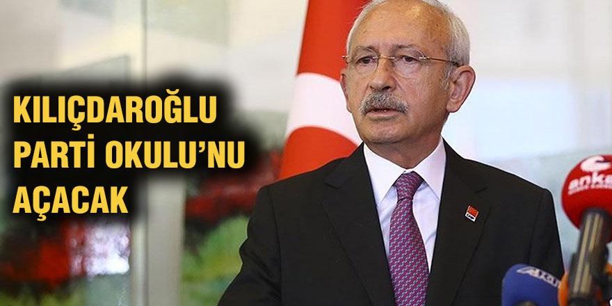 Kılıçdaroğlu Parti Okulu'nu açacak