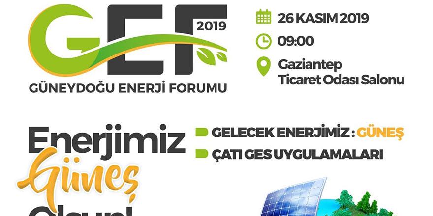Enerji forumuna adım adım
