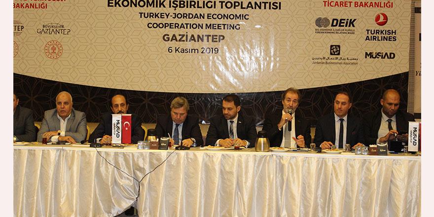 Ürdün ile ekonomik işbirliği gelişecek