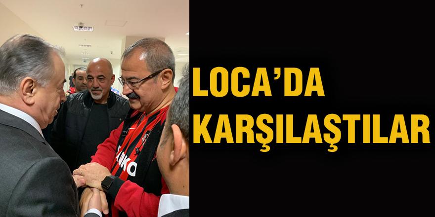 Loca'da karşılaştılar