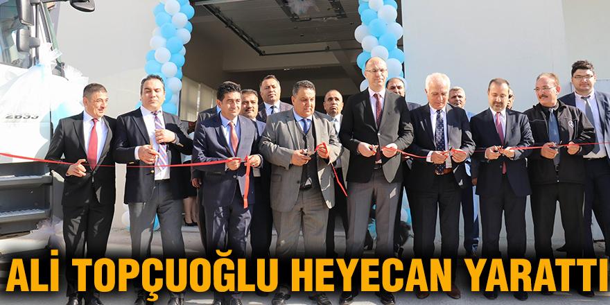 Ali Topçuoğlu heyecan yarattı