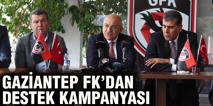 Gaziantep FK'dan destek kampanyası