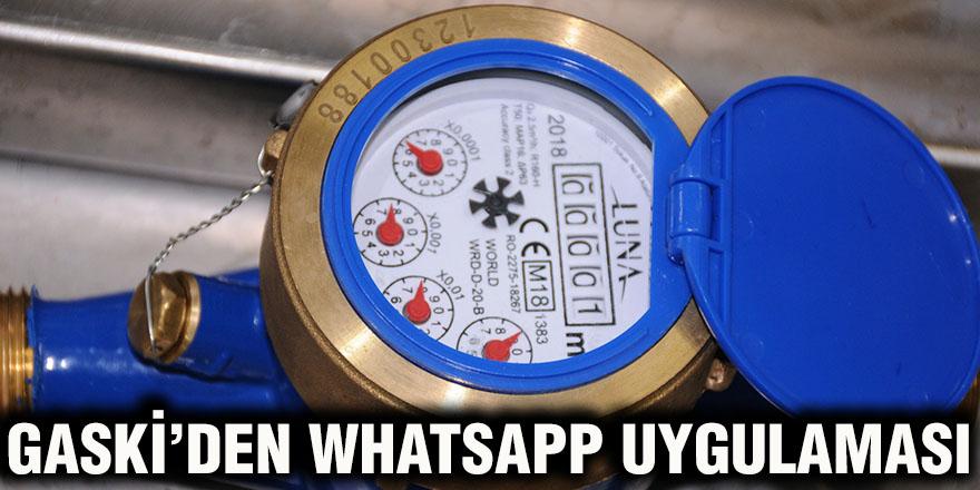 Gaski'den WhatsApp uygulaması