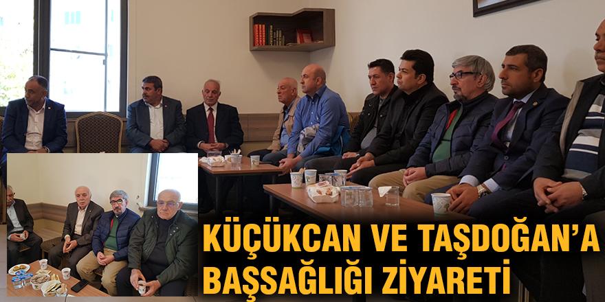 Küçükcan ve Taşdoğan'a başsağlığı ziyareti