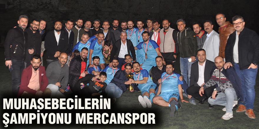 Muhasebecilerin şampiyonu Mercanspor