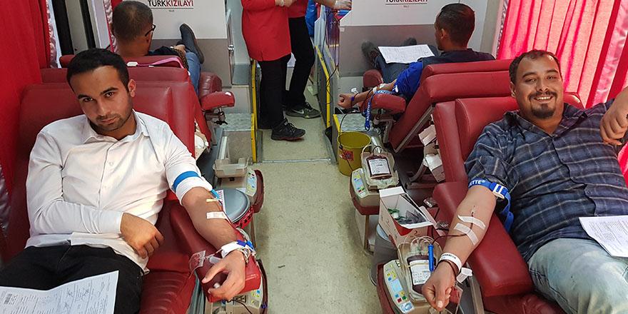 İslahiye'de kan bağışı