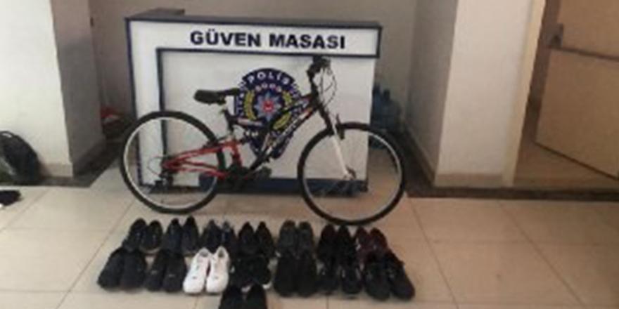 Ayakkabı hırsızlarına suçüstü