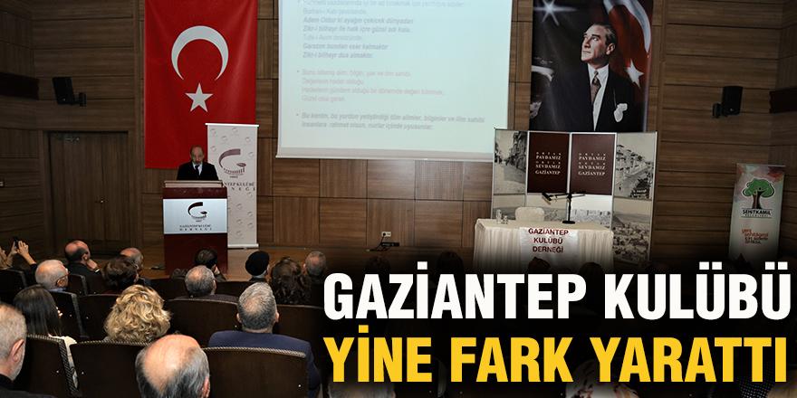 Gaziantep Kulübü yine fark yarattı