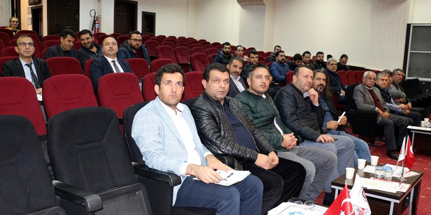 Nizip'te e-belge semineri