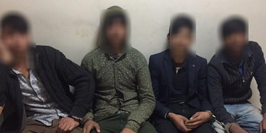 Hırsızlara suçüstü: 4 gözaltı