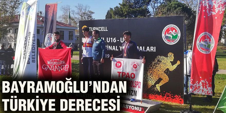 Bayramoğlu'ndan Türkiye derecesi
