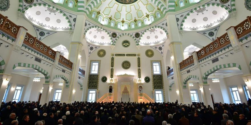 Merinos Servi Erdemoğlu Cami açıldı