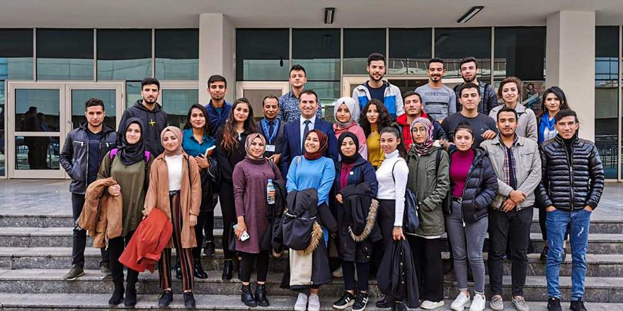 Öğrencilerden SGK'ya gezi