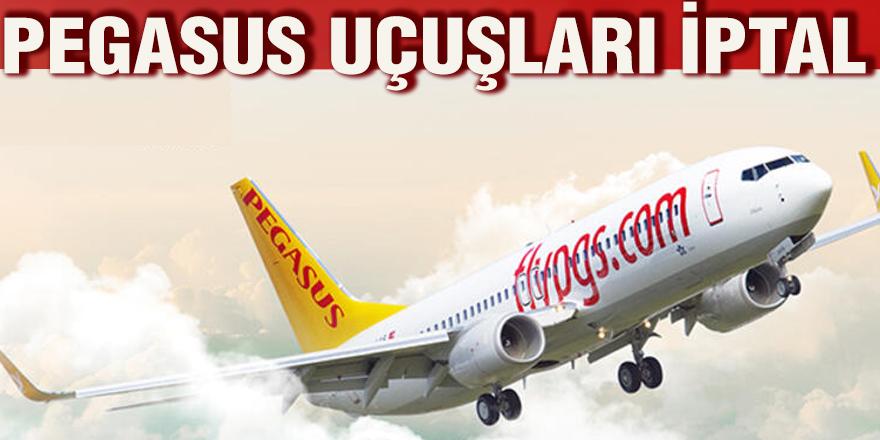 Pegasus uçuşları iptal