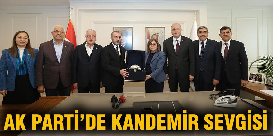 AK Parti'de Kandemir sevgisi