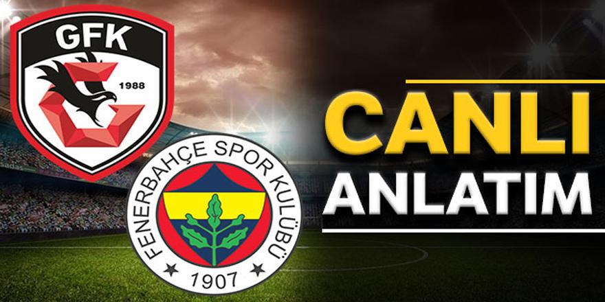 Gaziantep FK: 0 - Fenerbahçe: 1