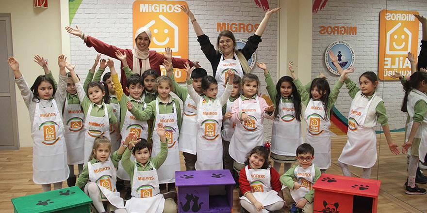 Migros aile kulüpleri çocukları bekliyor