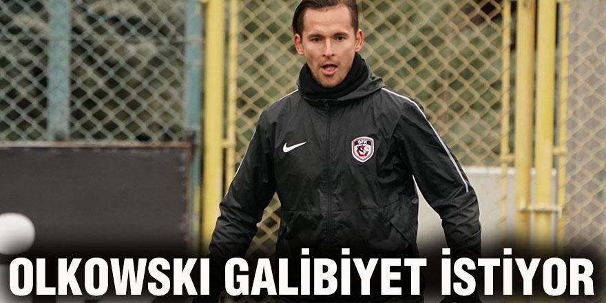 Olkowskı galibiyet istiyor