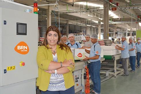BRN yatakları Gaziantep'te mağaza açtı