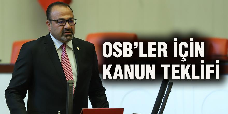 OSB'ler için kanun teklifi