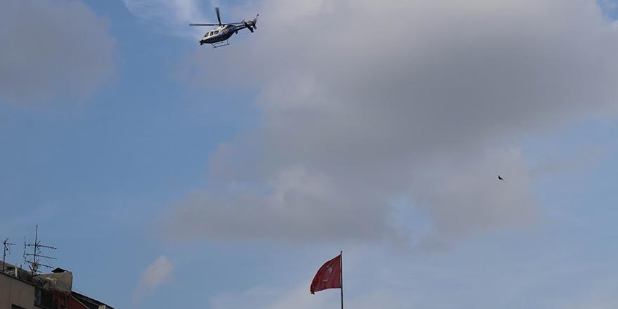 Helikopter destekli trafik uygulaması