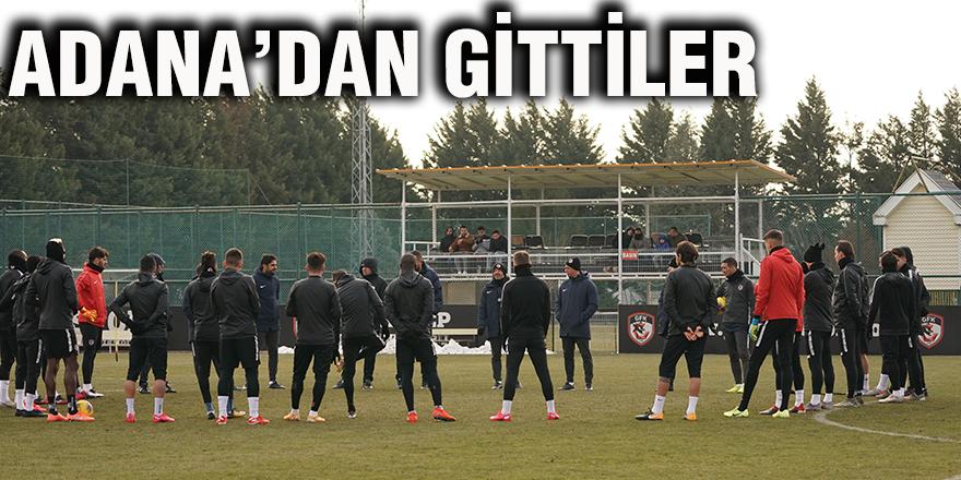Adana'dan gittiler