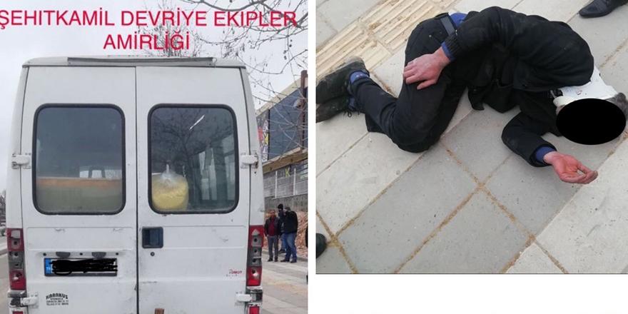 Hırsızlar polisten kaçarken yaralandı