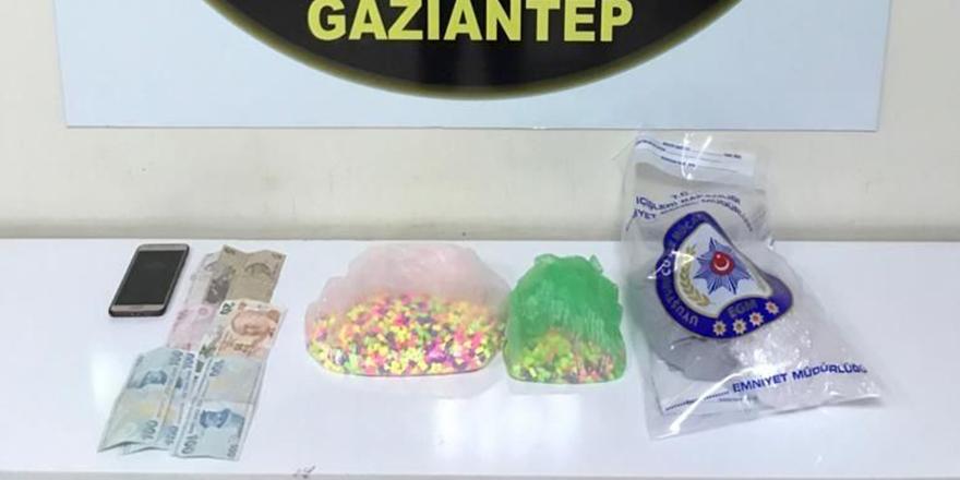 3 bin adet uyuşturucu hap ele geçirildi