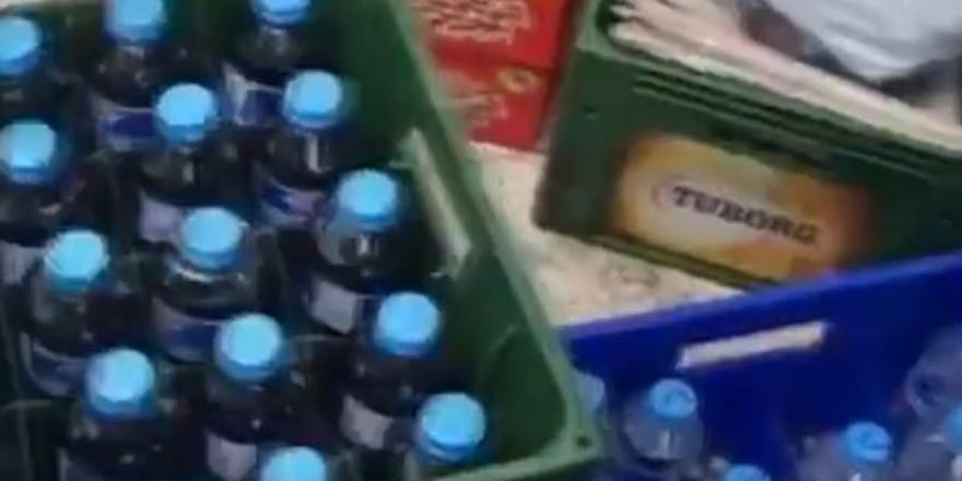 Gaziantep'te sahte ve kaçak içki operasyonu
