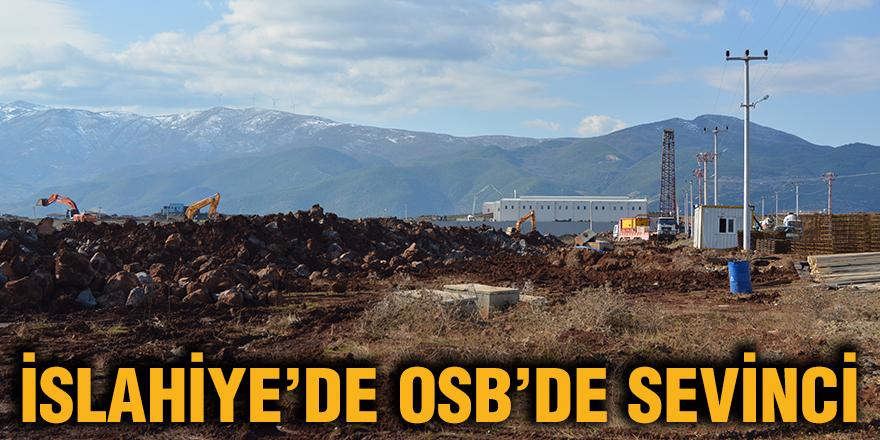 İslahiye'de OSB'de sevinci