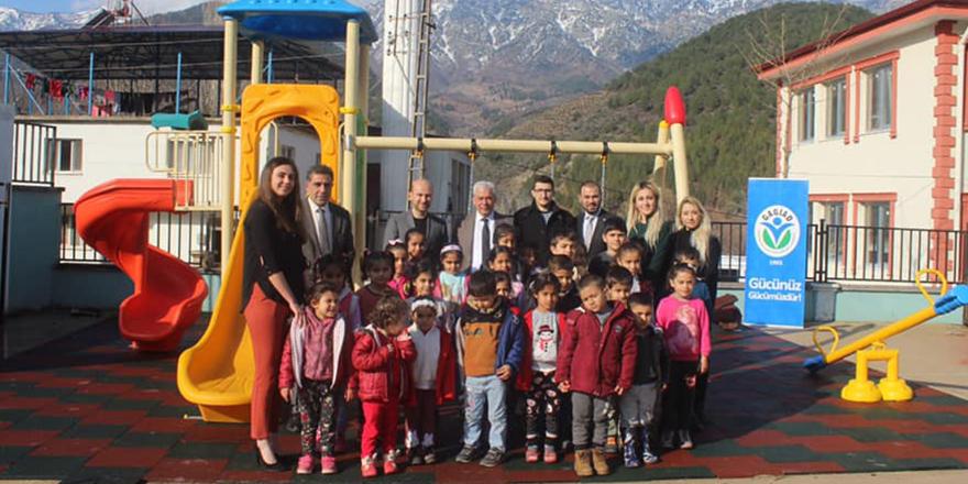 GAGİAD'dan oyun parkı yardımı