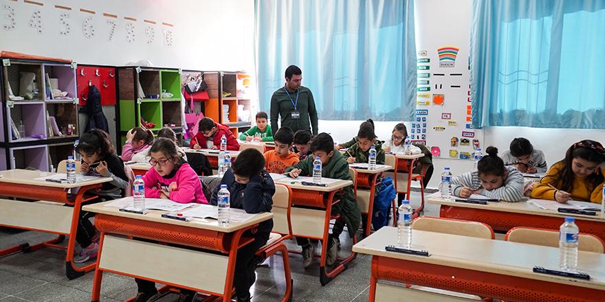 Erdem'de sınav heyecanı