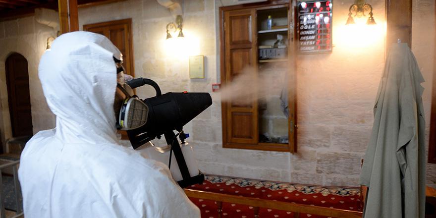 Şahinbey camileri temizledi