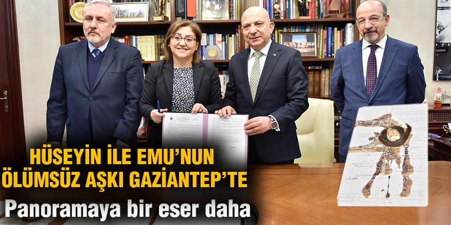 HÜSEYİN İLE EMU'NUN ÖLÜMSÜZ AŞKI GAZİANTEP'TE
