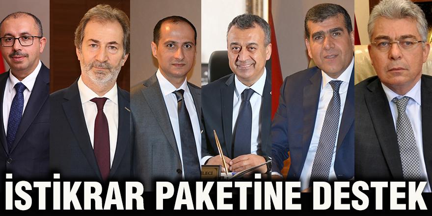 İSTİKRAR PAKETİNE DESTEK