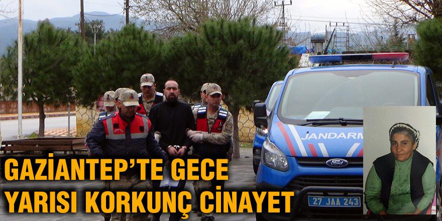 Gaziantep'te gece yarısı korkunç cinayet