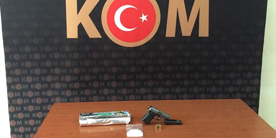 Gaziantep'te uyuşturucu operasyonunda 8 şüpheli yakalandı