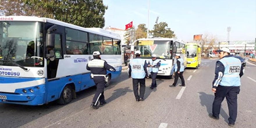 Servisler ve otobüslere ceza