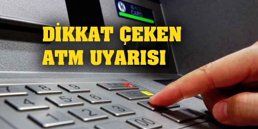 Bilim Kurulu üyesinden dikkat çeken ATM uyarısı