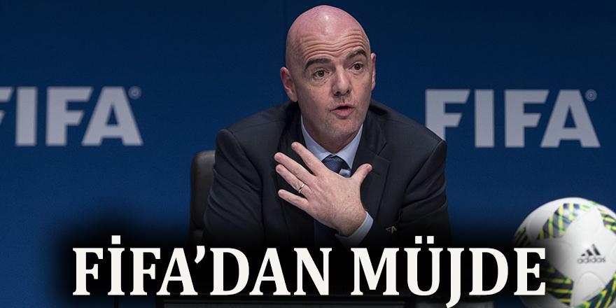 FIFA'dan müjde