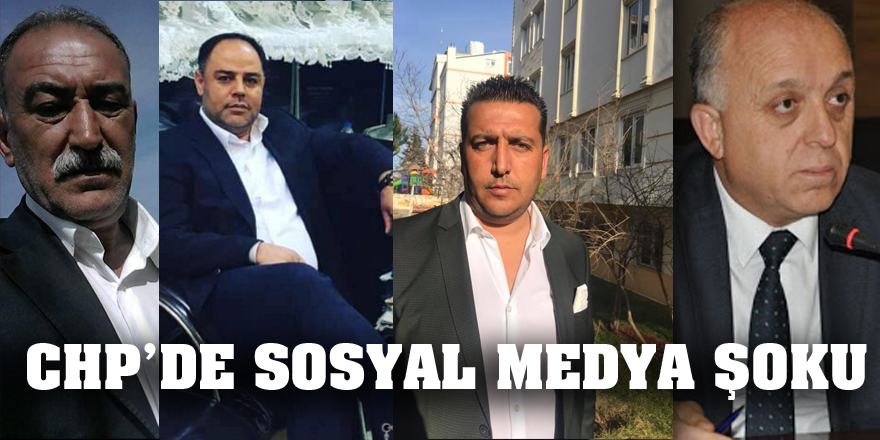 CHP'de sosyal medya şoku