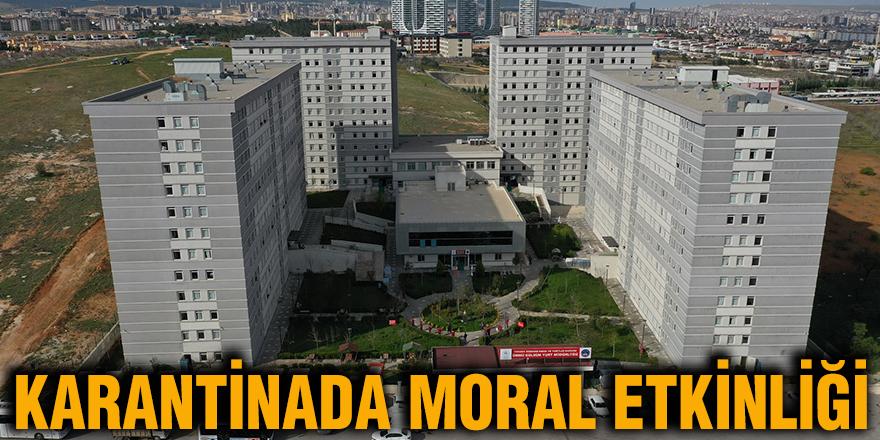 Karantinada moral etkinliği