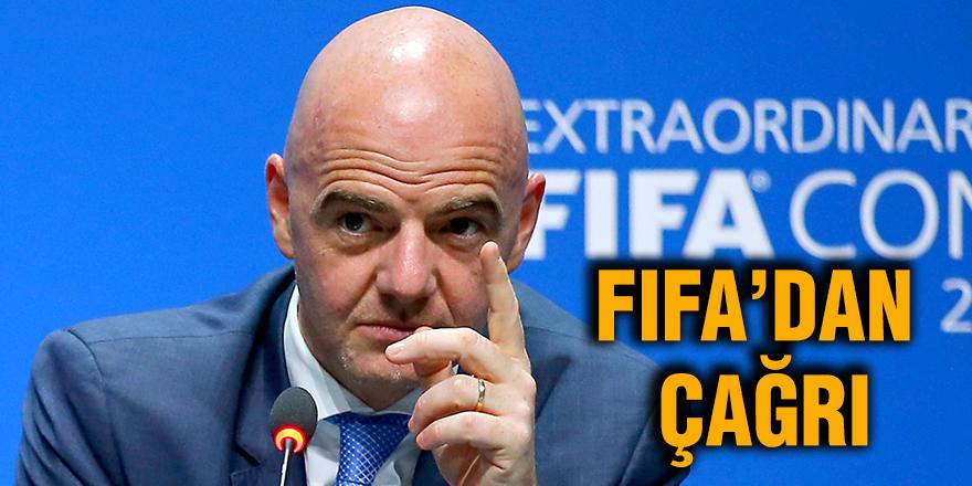 FIFA'dan çağrı