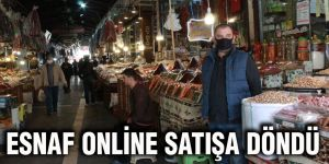 Esnaf online satışa döndü