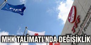 MHK Talimatı'nda değişiklik