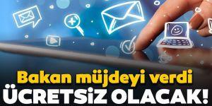 Ulaştırma ve Altyapı Bakanı internet müjdesini verdi